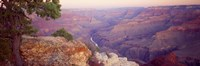 Aerial view of a Valley, Mohave Point, Grand Canyon National Park, Arizona Fine-Art Print