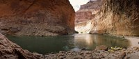 Kayakers in Colorado River, Grand Canyon National Park, Arizona Fine-Art Print