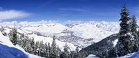 Ski Slopes in Sun Valley, Idaho Fine-Art Print