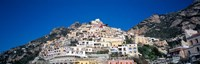 Town on mountains, Positano, Amalfi Coast, Campania, Italy Fine-Art Print