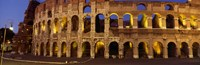Ruins of an Amphitheater, Coliseum, Rome, Italy Fine-Art Print
