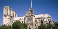 View of the Notre Dame, Paris, Ile-De-France, France Fine-Art Print
