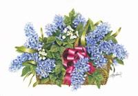 Basket of Blue Fine-Art Print
