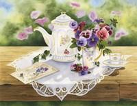 Victorian Tea in the Garden Fine-Art Print