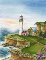 Lighthouse Sunset Fine-Art Print