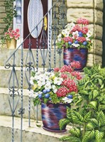 Butchart Gardens Steps Fine-Art Print