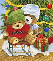 Teddy Bear Christmas Fine-Art Print