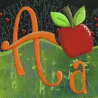 A for Apple Fine-Art Print