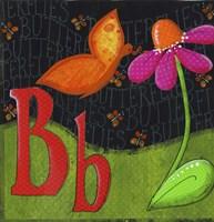 B is for Butterfly Fine-Art Print