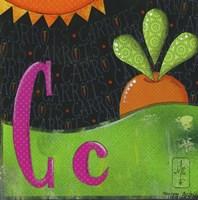 C for Carrots Fine-Art Print