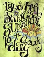 Laugh Away A Cloudy Day Fine-Art Print