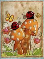 Ladybug Friends Fine-Art Print