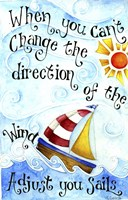 Adjust Your Sail(Words) Fine-Art Print