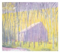 Saltbox Barn Fine-Art Print
