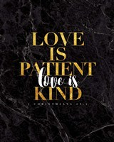 Love is Patient Fine-Art Print