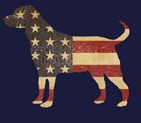 American Dog Fine-Art Print