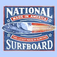 National Surfboard Fine-Art Print
