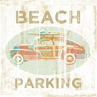 Beach Parking Fine-Art Print