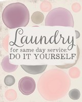 Do It Yourself Laundry Fine-Art Print