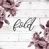 Fold Script Fine-Art Print
