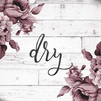 Dry Script Fine-Art Print