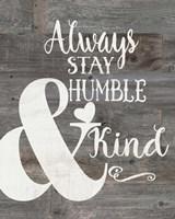 Rustic Humble & Kind Fine-Art Print