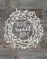 Rustic Home Sweet Home Fine-Art Print