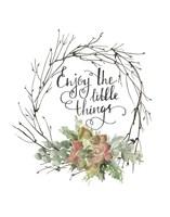 Little Things Wreath Fine-Art Print