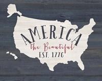 America the Beautiful Fine-Art Print