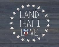 Land I Love 2 Fine-Art Print