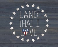 Land I Love 2 Fine-Art Print