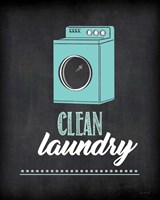 Clean Laundry Framed Print