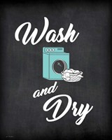 Wash & Dry Framed Print