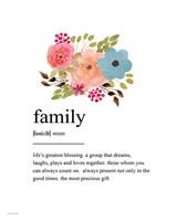 Family Definition Fine-Art Print