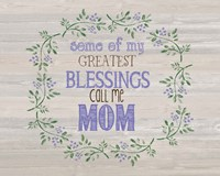 Mom's Blessings Fine-Art Print