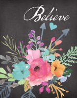 Believe - Chalk Fine-Art Print