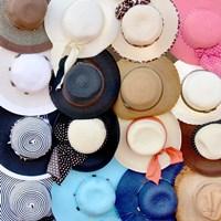 Hats on a Rack Fine-Art Print