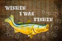 Wishin I Was Fishin II Fine-Art Print