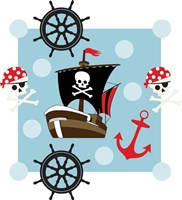 Ahoy Pirate Boy I Fine-Art Print