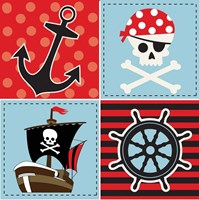 Ahoy Pirate Boy II Fine-Art Print