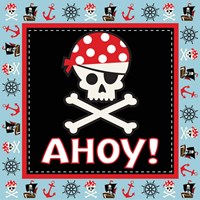 Ahoy Pirate Boy III Fine-Art Print