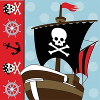 Ahoy Pirate Boy V Fine-Art Print