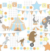 Baby Big Top V Blue Fine-Art Print