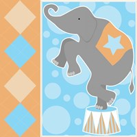 Baby Big Top IX Blue Fine-Art Print