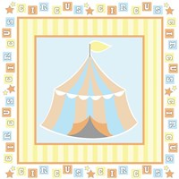 Baby Big Top X Blue Fine-Art Print