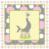 Baby Big Top VI Pink Fine-Art Print
