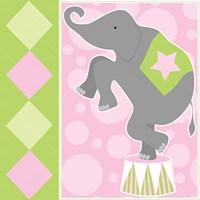 Baby Big Top IX Pink Fine-Art Print