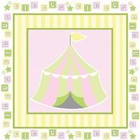 Baby Big Top X Pink Fine-Art Print