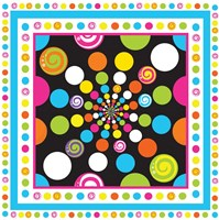 Candy Craze X Framed Print