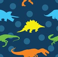 Dinopolooza V Fine-Art Print